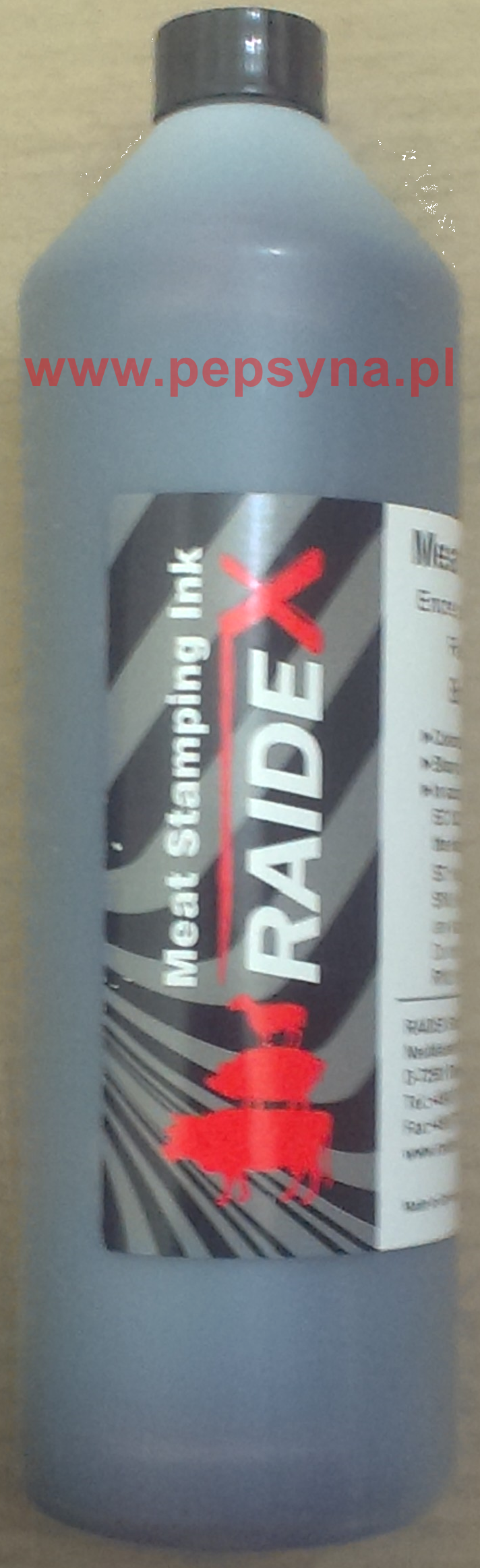 Tusz do znakowania mięsa RAIDEX